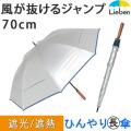 シルバー風が抜ける傘